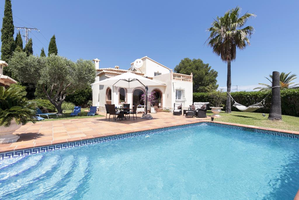 Casa Kaba, Wonderful and comfortable villa in Denia, on the Costa Blanca, Spain  with private pool for 4 persons.....
