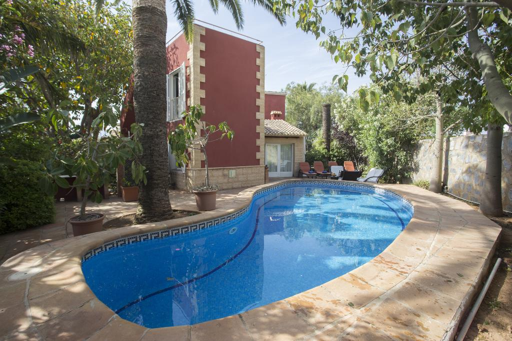 Don Pedro, Classic and comfortable villa  with private pool in Denia, on the Costa Blanca, Spain for 6 persons.....