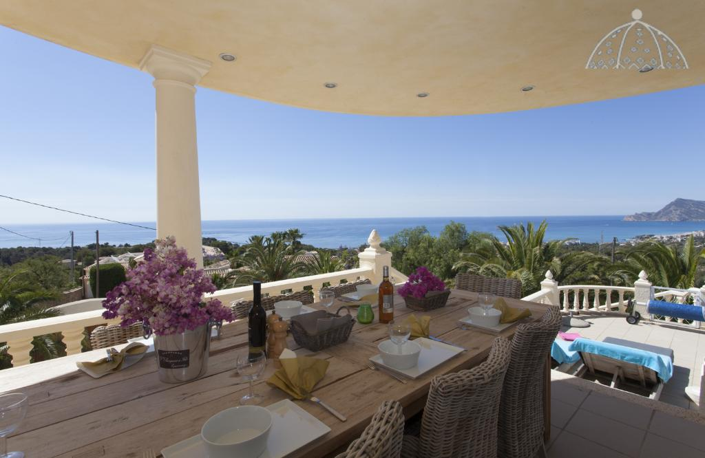 El Greco, Lovely and luxury villa  with private pool in Altea, on the Costa Blanca, Spain for 10 persons.....