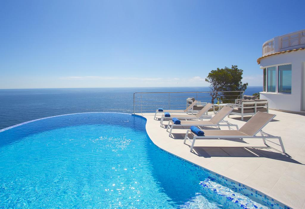 Sueno Azul, Modern and luxury villa  with private pool in Javea, on the Costa Blanca, Spain for 8 persons.....