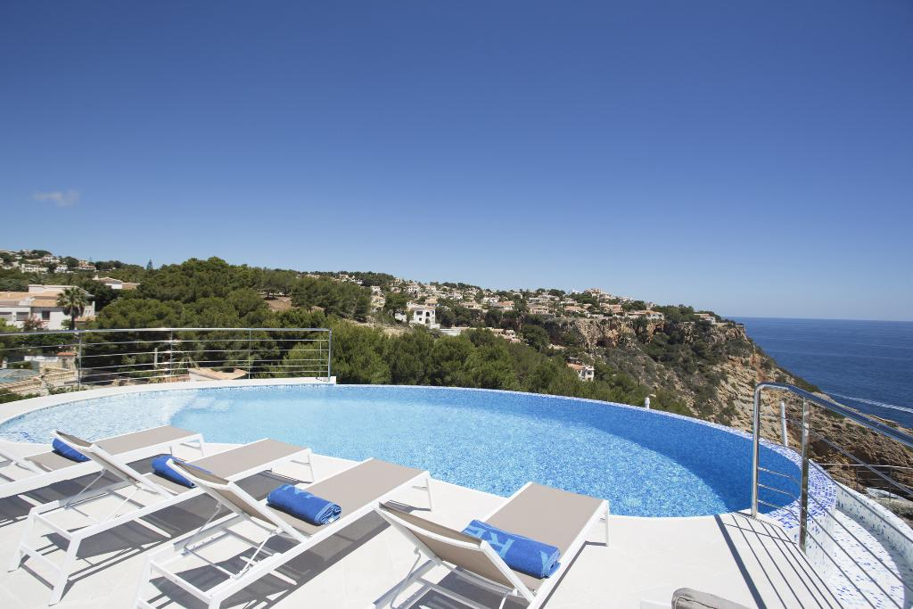 Sueno Azul 6 pax, Modern and luxury villa  with private pool in Javea, on the Costa Blanca, Spain for 6 persons...