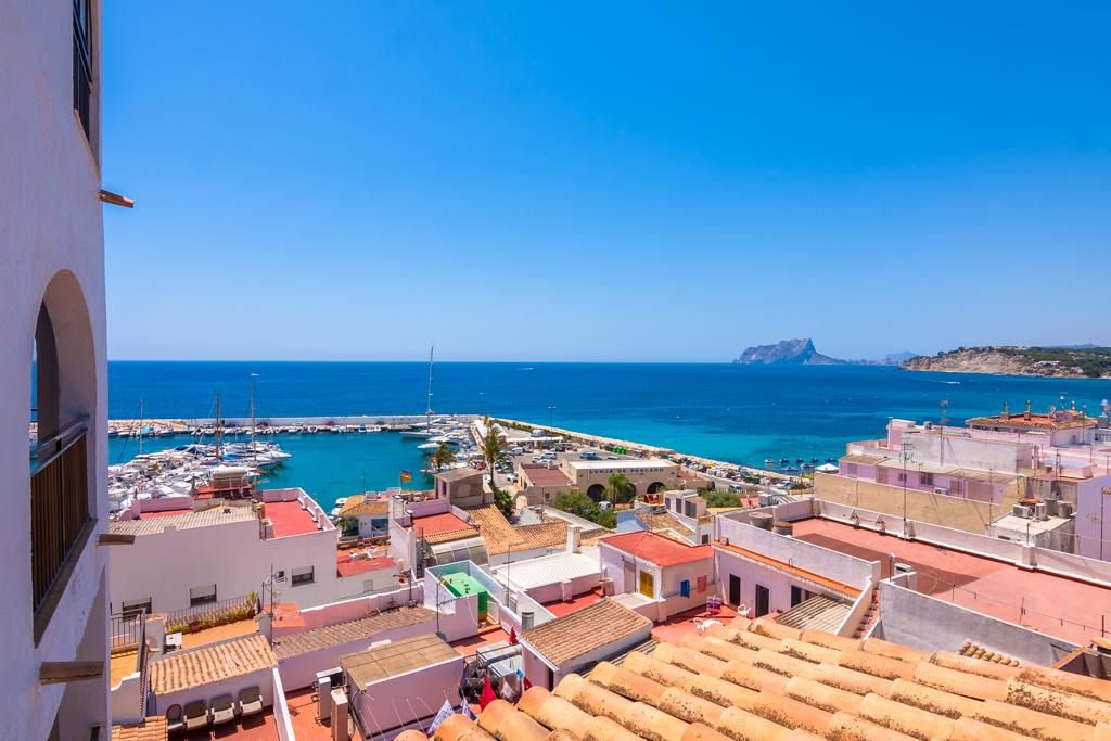 Elforti 6, Rustic and classic apartment in Moraira, on the Costa Blanca, Spain for 6 persons...