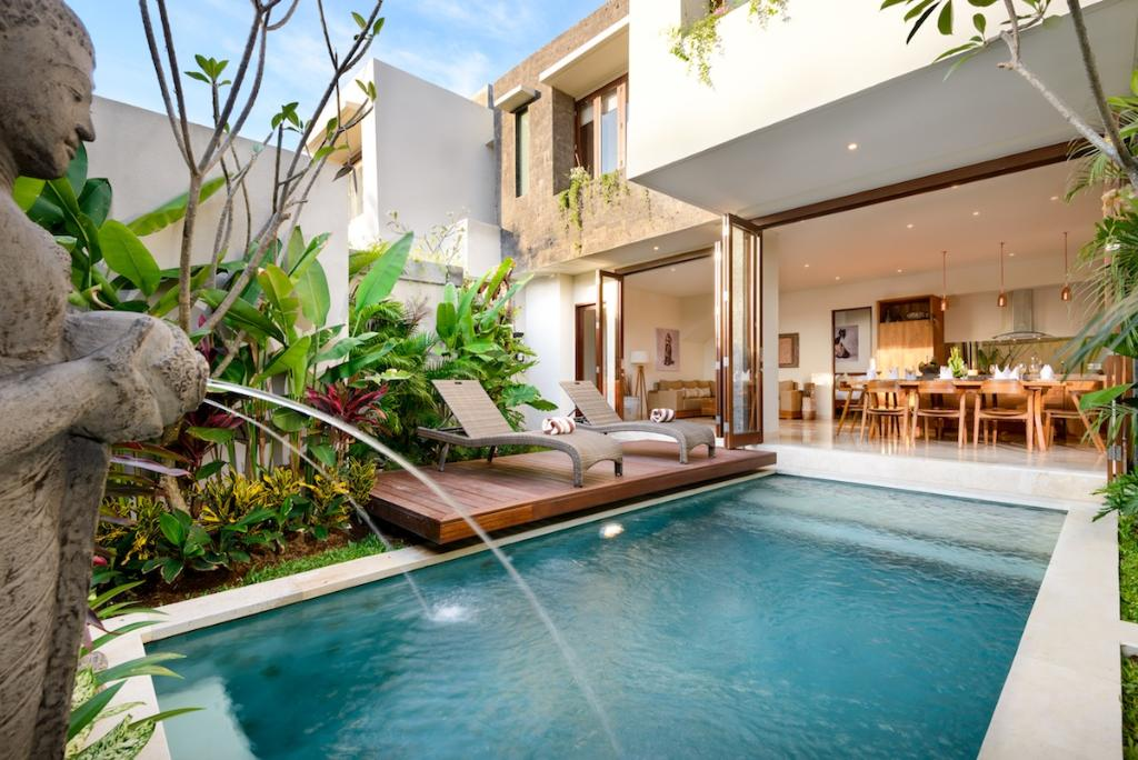 Maria 3br, Modern and luxury villa  with private pool in Legian, Bali, Indonesia for 6 persons...