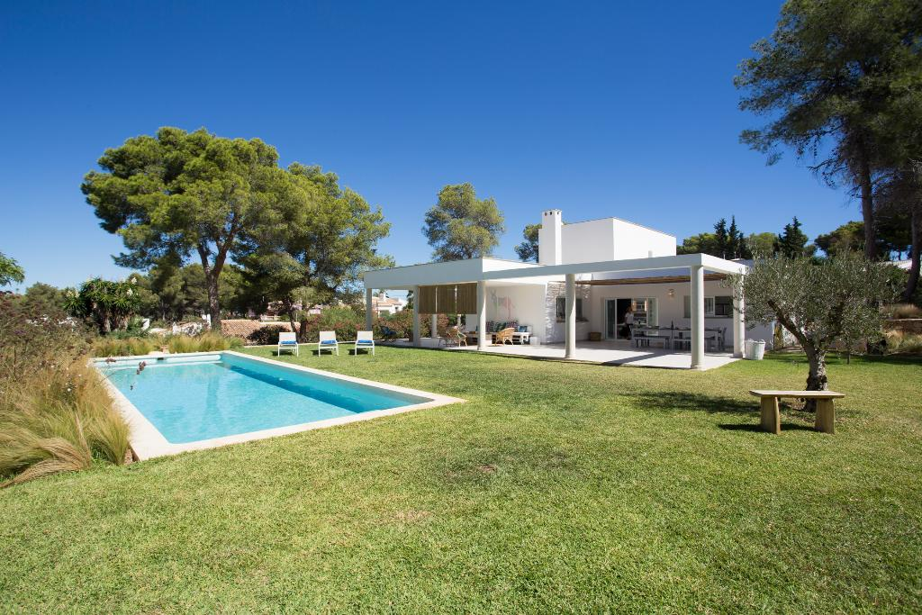 La Mifa, Modern and romantic villa in Javea, on the Costa Blanca, Spain  with private pool for 8 persons.....