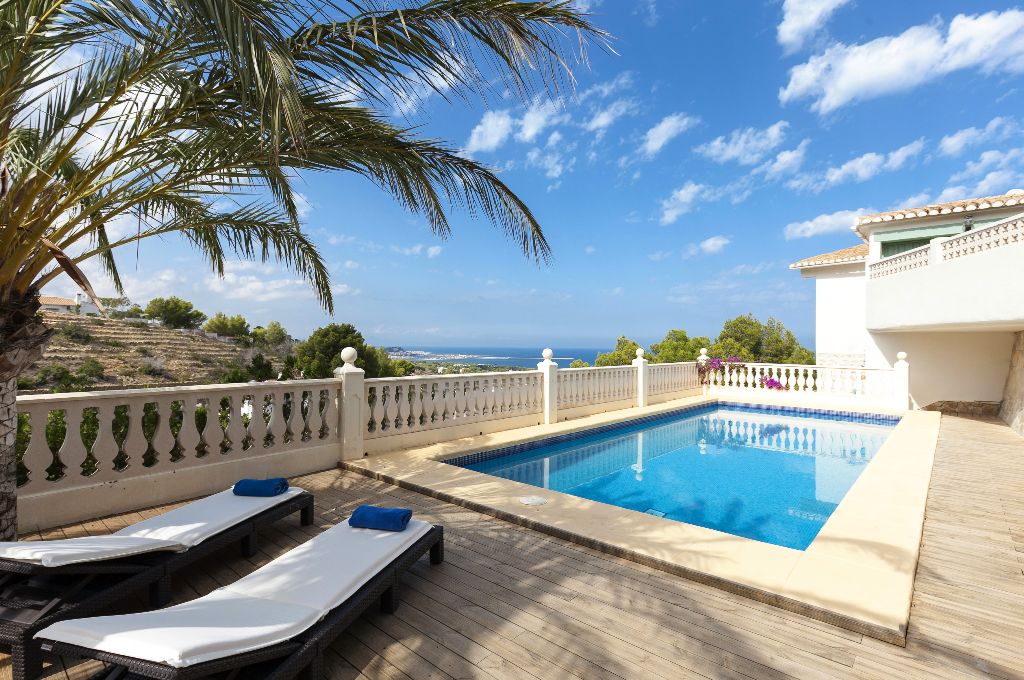 Doble Diez, Wonderful and luxury villa  with private pool in Denia, on the Costa Blanca, Spain for 10 persons...