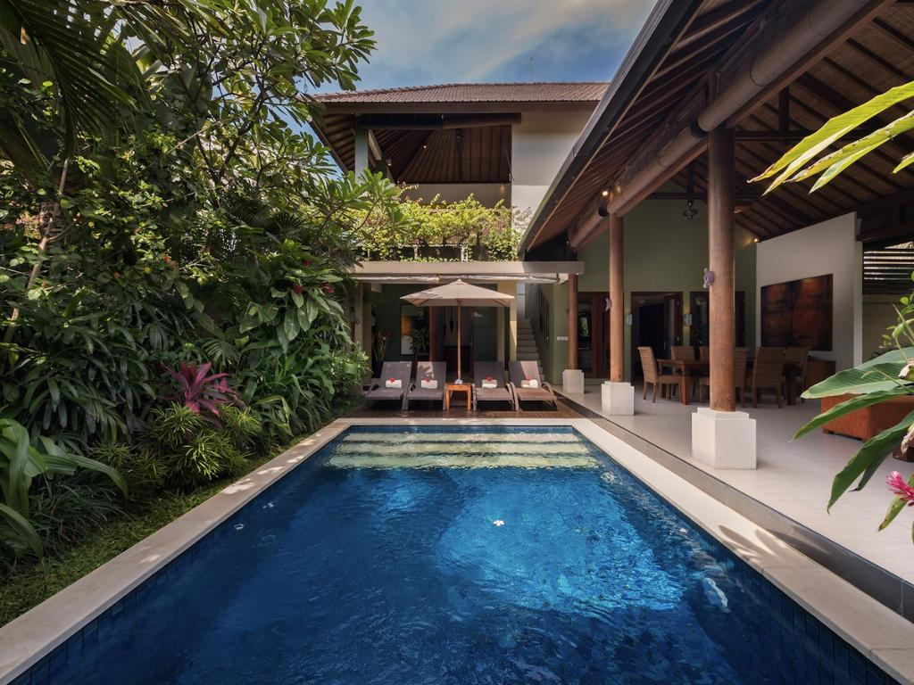 Lakshmi ubud 1br, Beautiful and luxury villa  with private pool in Seminyak, Bali, Indonesia for 2 persons...