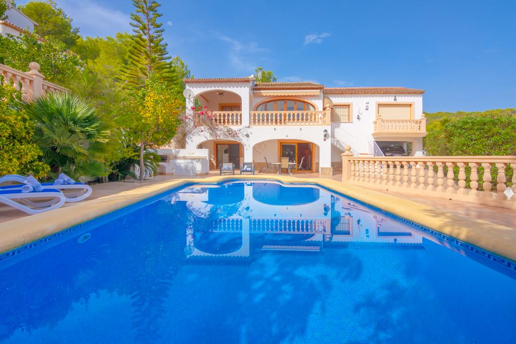 Sonrisas 6, Beautiful villa with private pool in Benissa, Spain for 6 persons, for a nice holiday on the Costa Blanca with family or.....
