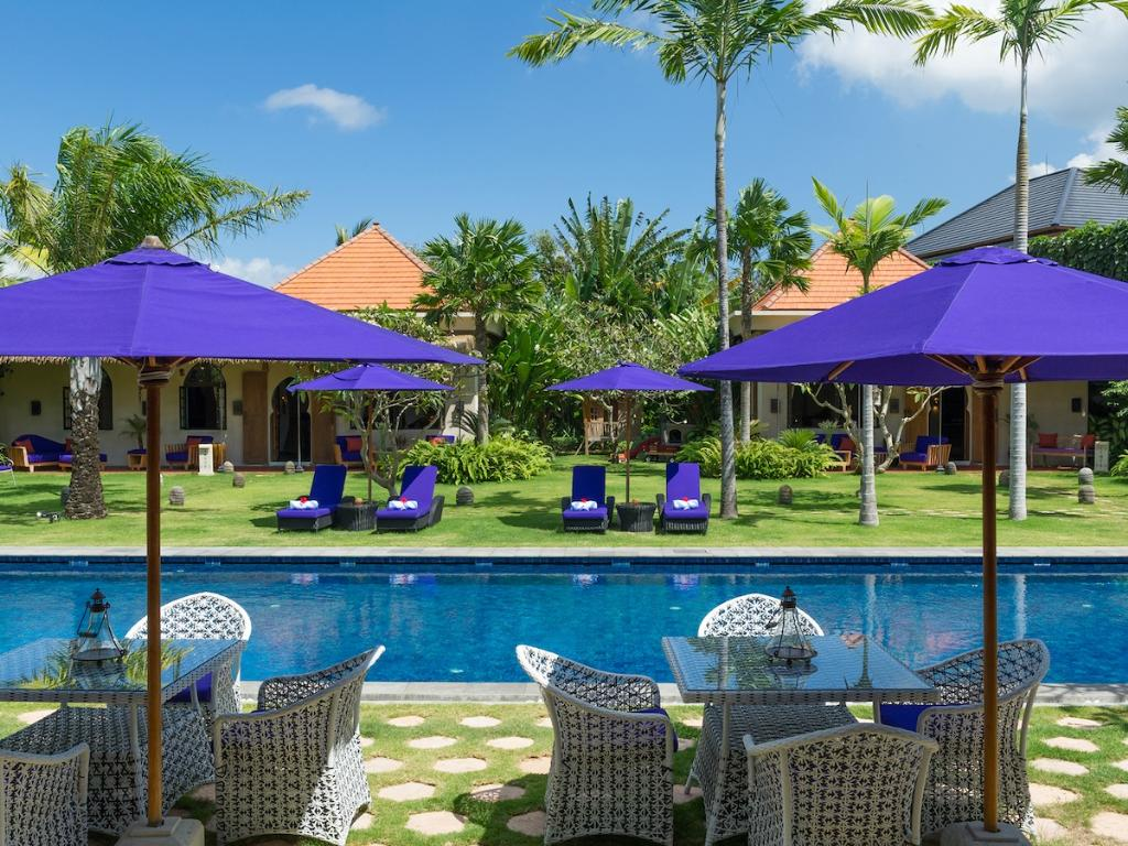 Sayang Damour 4BR,Large and luxury villa  with private pool in Seminyak, Bali, Indonesia for 8 persons...