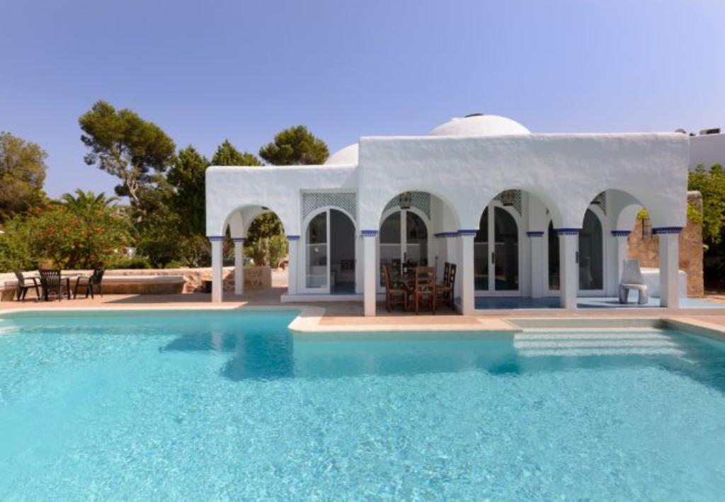 Lacigala 12, Large and classic villa in Santa Eulalia, Ibiza, Spain  with private pool for 12 persons...