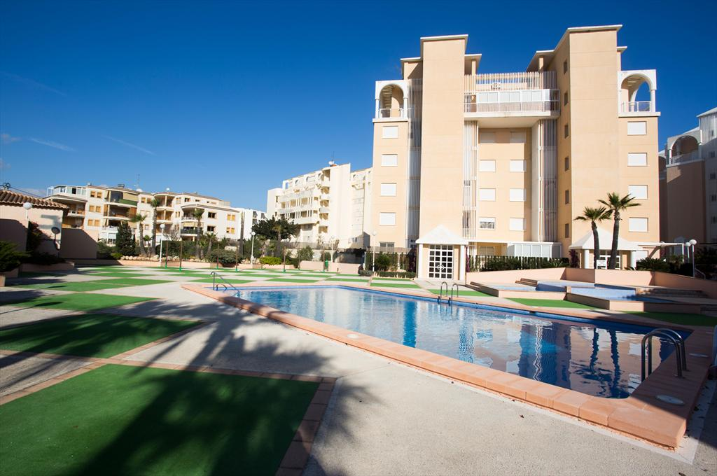 Golden Paradise II, Beautiful and cheerful apartment  with communal pool in Javea, on the Costa Blanca, Spain for 6 persons.....
