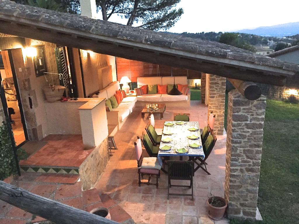 CHOCO casa tipo rustico con gran jardin wifi gratis, Rustic and comfortable house in Begur, on the Costa Brava, Spain for 6 persons.....