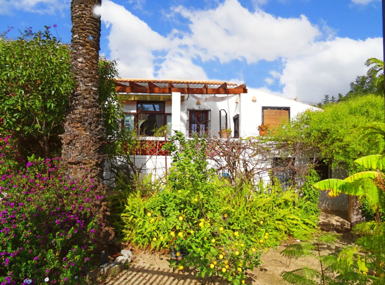Rustic and cheerful villa in Altea, on the Costa Blanca, Spain  with private pool for 6 persons