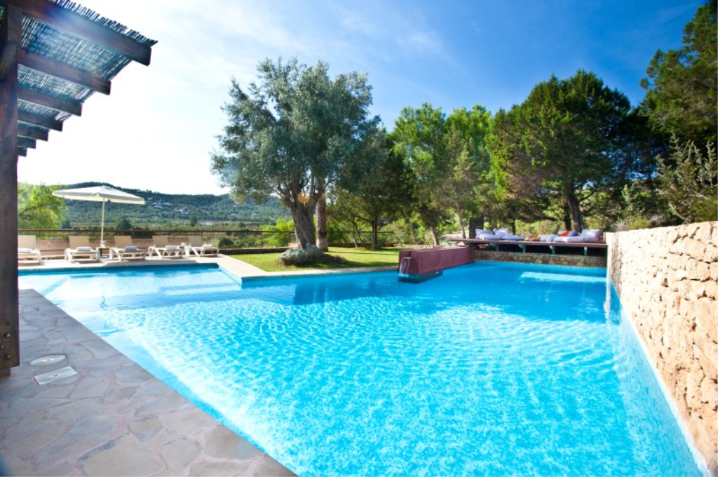 353, Villa in Cala Bassa, Ibiza, Spain  with private pool for 11 persons...