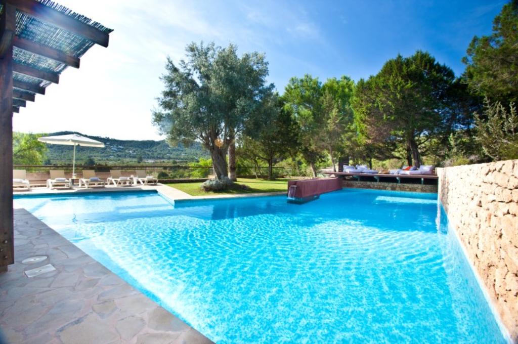 353,Villa in Cala Bassa, Ibiza, Spain  with private pool for 11 persons...