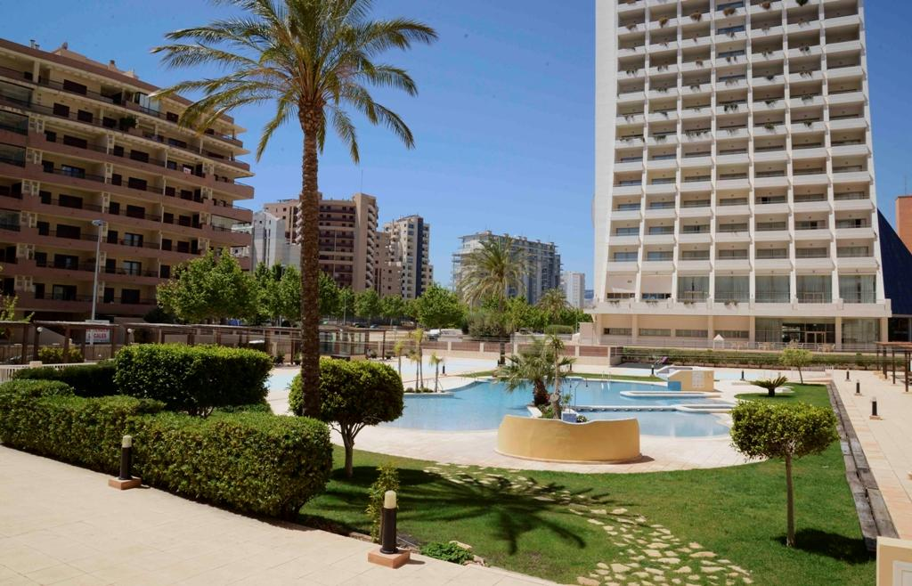 Apartamento Apolo XVI 16 Invierno, Apartment  with communal pool in Calpe, on the Costa Blanca, Spain for 6 persons.....