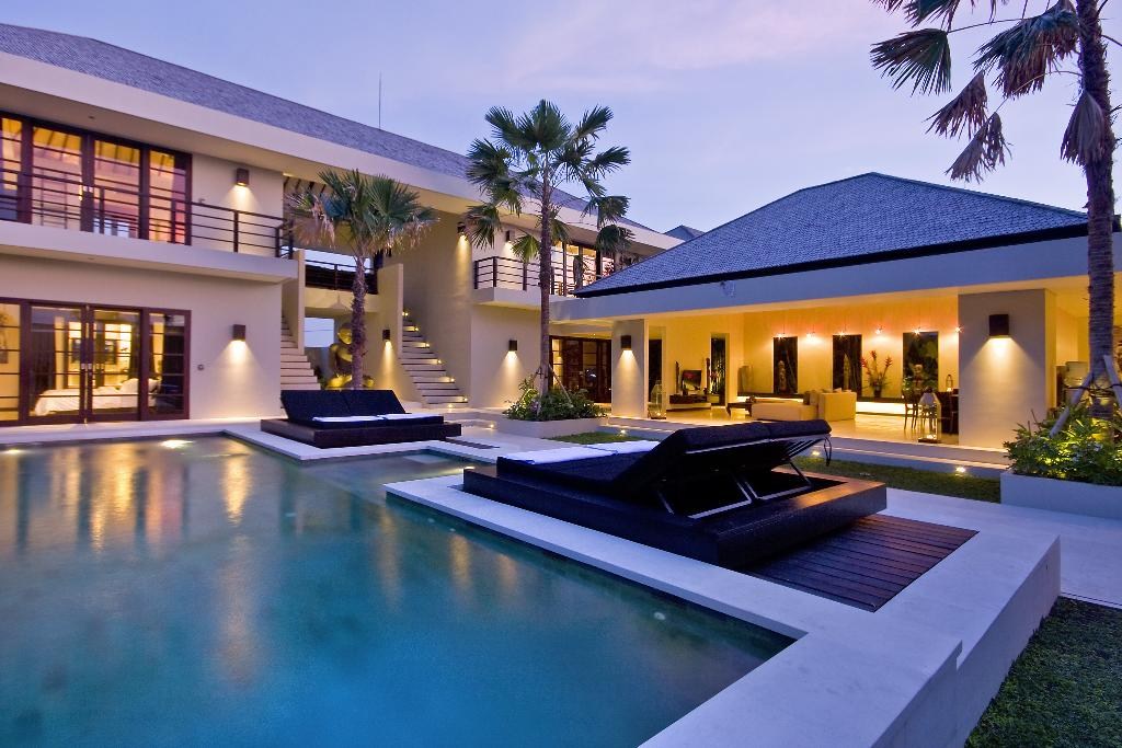 Spirit 3 BR, Luxury villa in Canggu, Bali, Indonesia  with private pool for 6 persons...