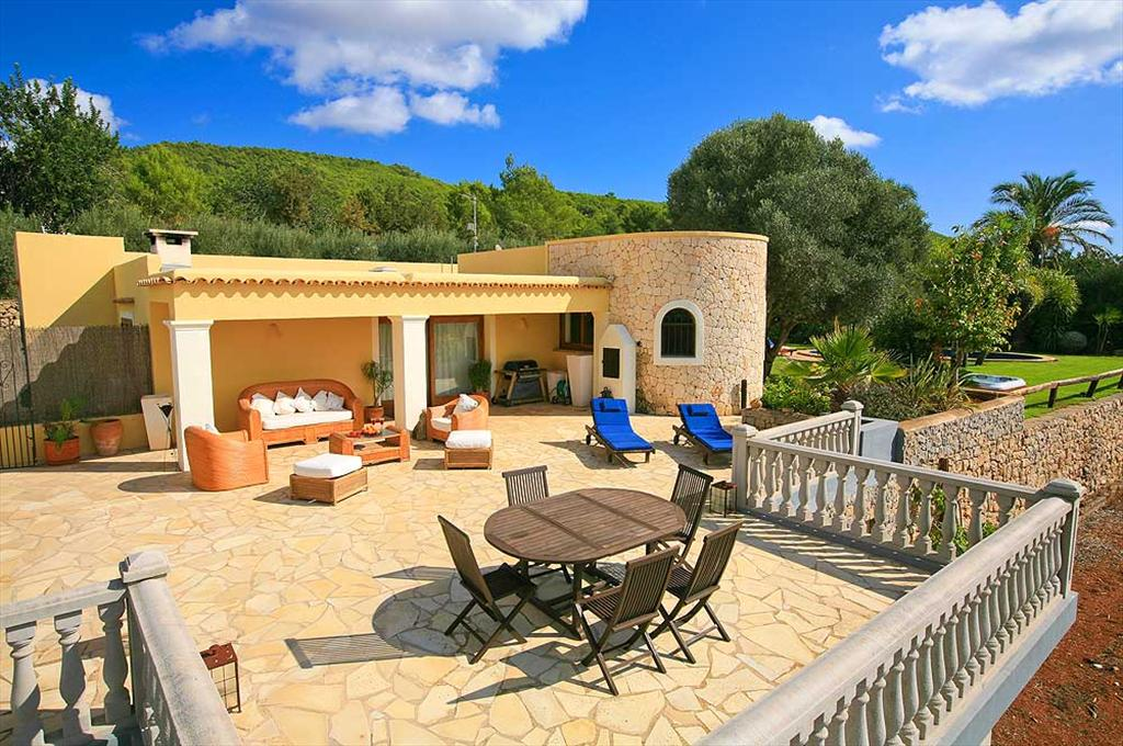 Benito, Villa in Santa Eulalia, Ibiza, Spain  with private pool for 6 persons...