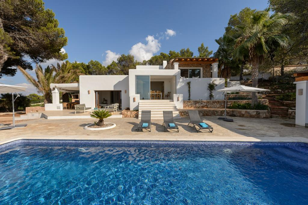 Bona Vista, Large and comfortable villa in Sant Josep de sa Talaia, Ibiza, Spain  with private pool for 10 persons...