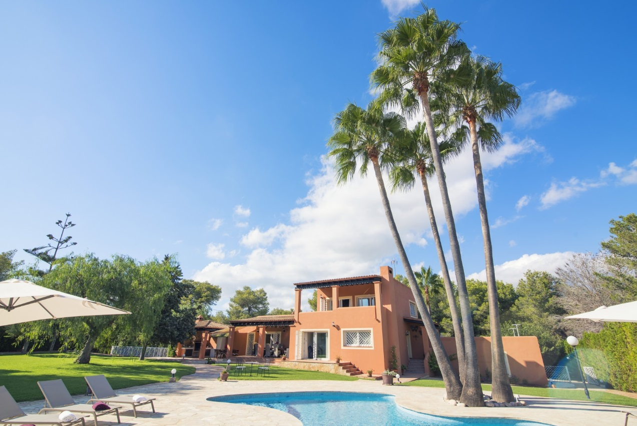 Lucia, Large villa  with private pool in Sant Josep de sa Talaia, Ibiza, Spain for 10 persons...