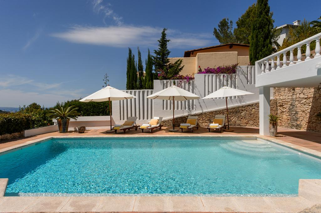 Can Bernato, Villa in Can Furnet, Ibiza, Spain  with private pool for 10 persons...