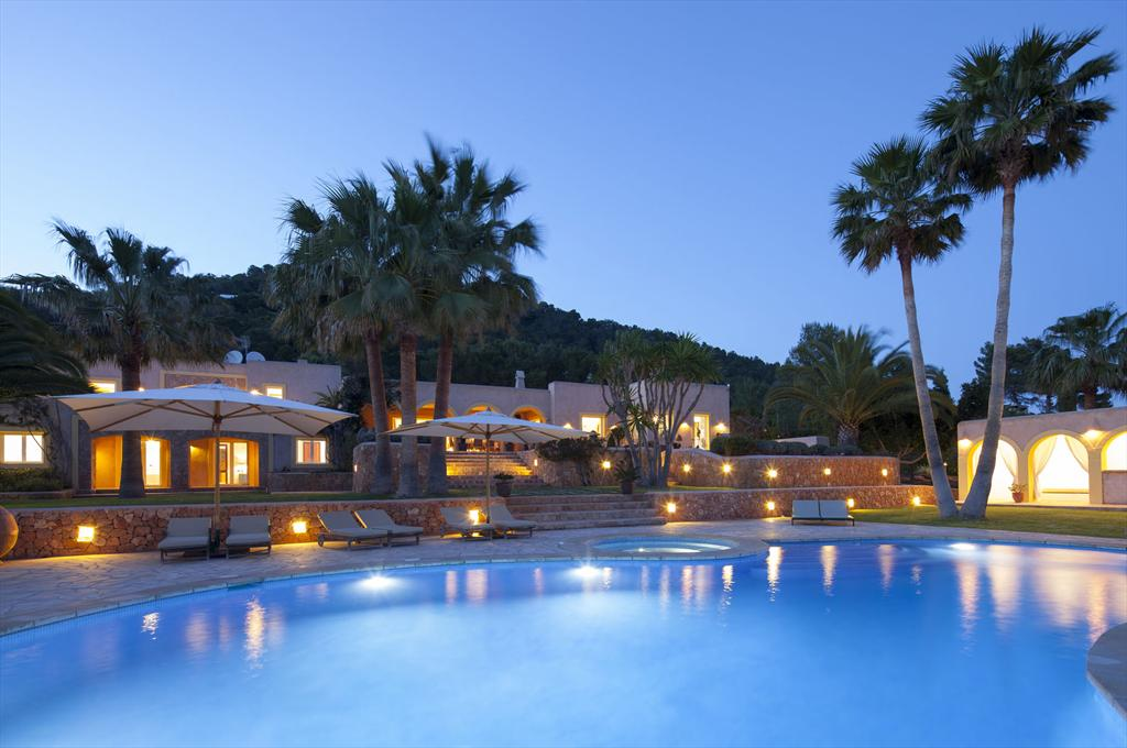 Can Canamo, Large villa in Porroig, Ibiza, Spain  with private pool for 12 persons...