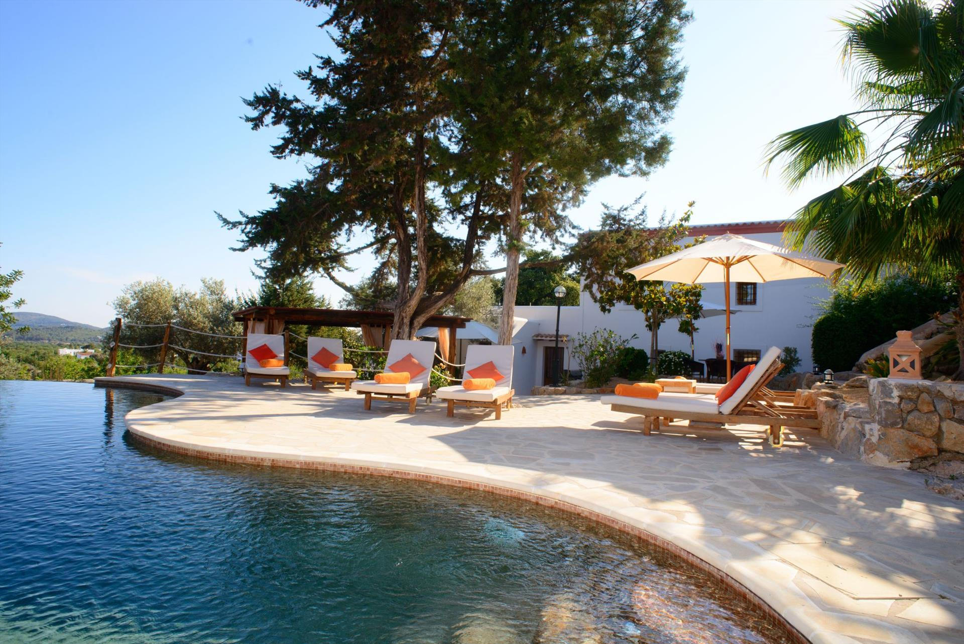 Cosmo, Large villa  with private pool in Santa Eulalia, Ibiza, Spain for 10 persons...