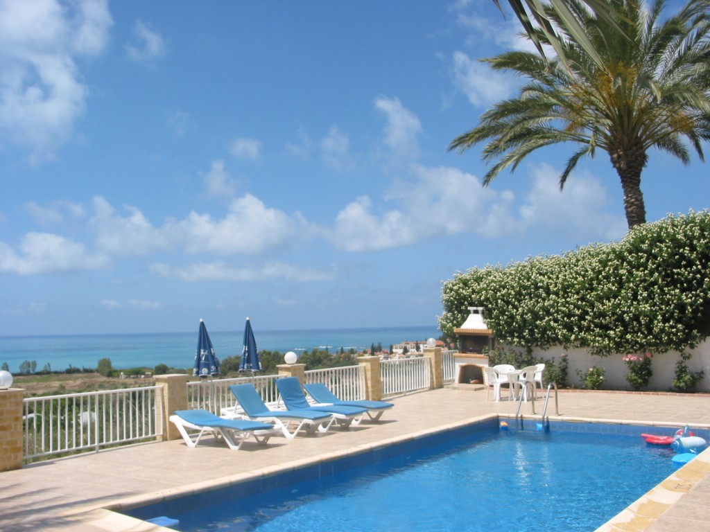Simos villas, Villa in Coral Bay, Coral Bay, Cyprus  with private pool for 4 persons...