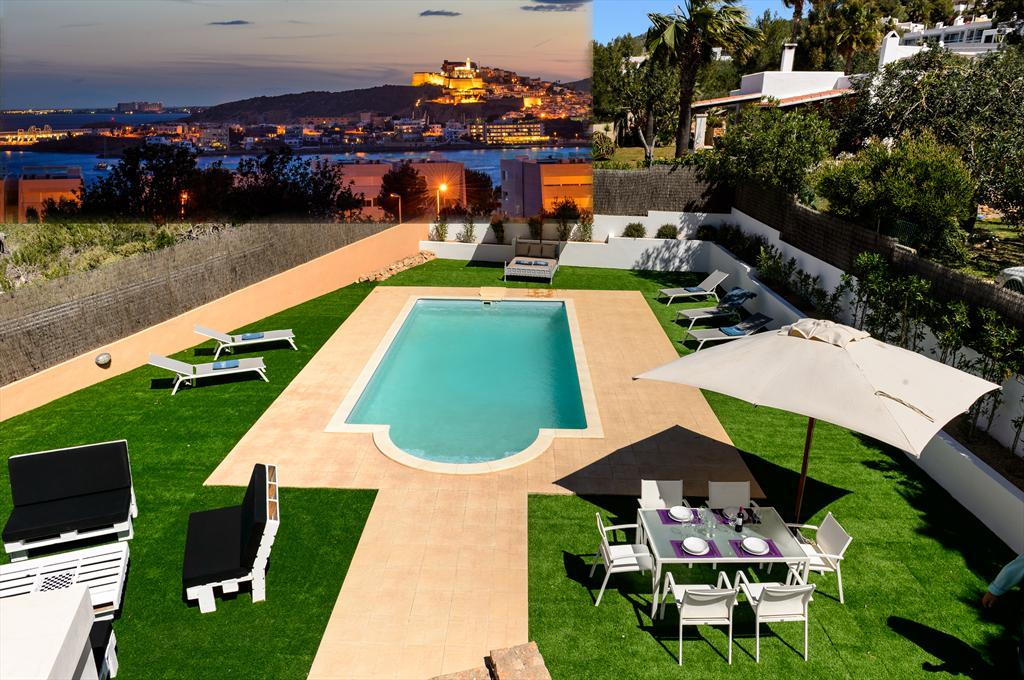 Can Pepe Ton, Villa in Ibiza, Ibiza, Spain  with private pool for 8 persons...