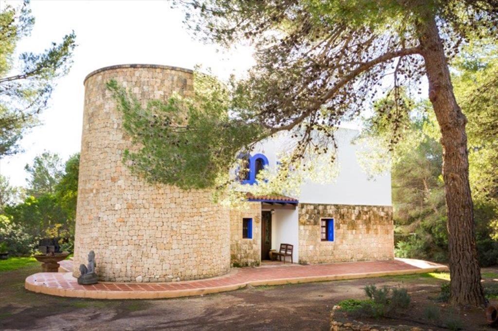 La LLuna,Villa in Cala Jondal, Ibiza, Spain  with private pool for 8 persons...