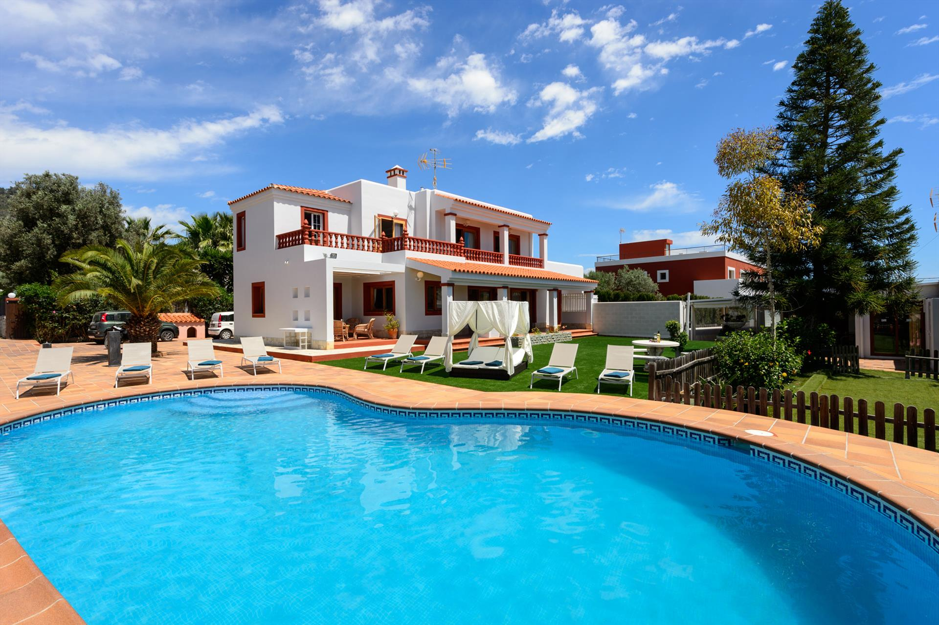 Carroca villa, Villa  with private pool in Ibiza, Ibiza, Spain for 10 persons...