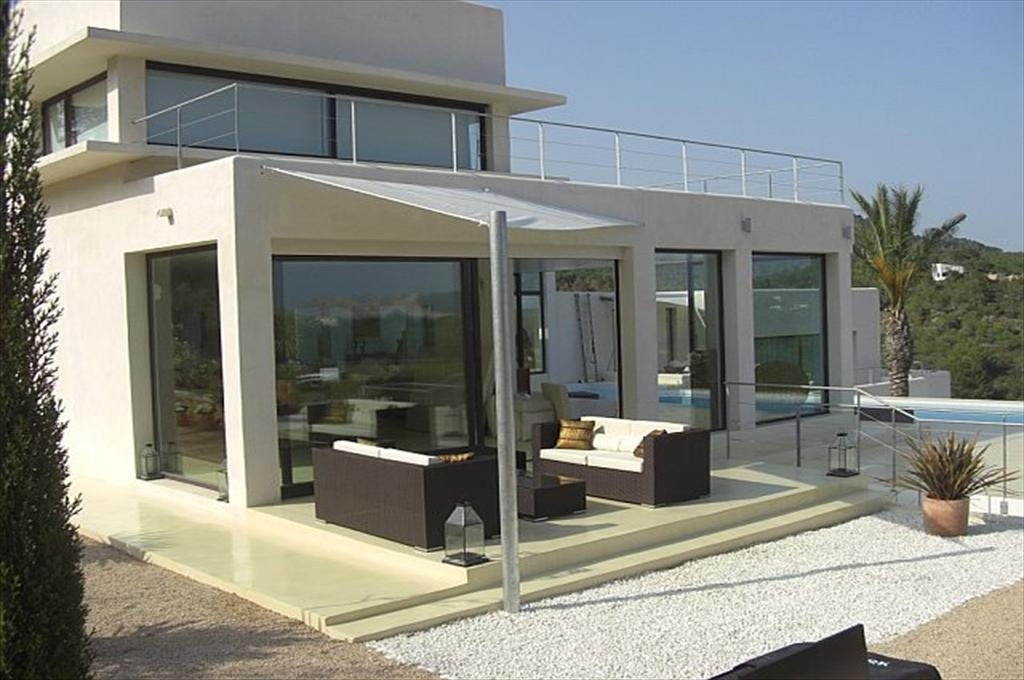 Can sacha,Large villa  with private pool in Cala Jondal, Ibiza, Spain for 10 persons...