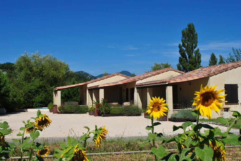 Gîtes le soleil souriant, Holiday home in Banne, Rhône-Alpes, France  with private pool for 4 persons...
