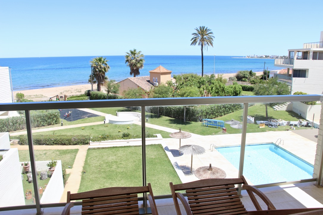 Tierra de Mar 06, Beautiful apartment in Denia, on the Costa Blanca, Spain  with communal pool for 6 persons.....