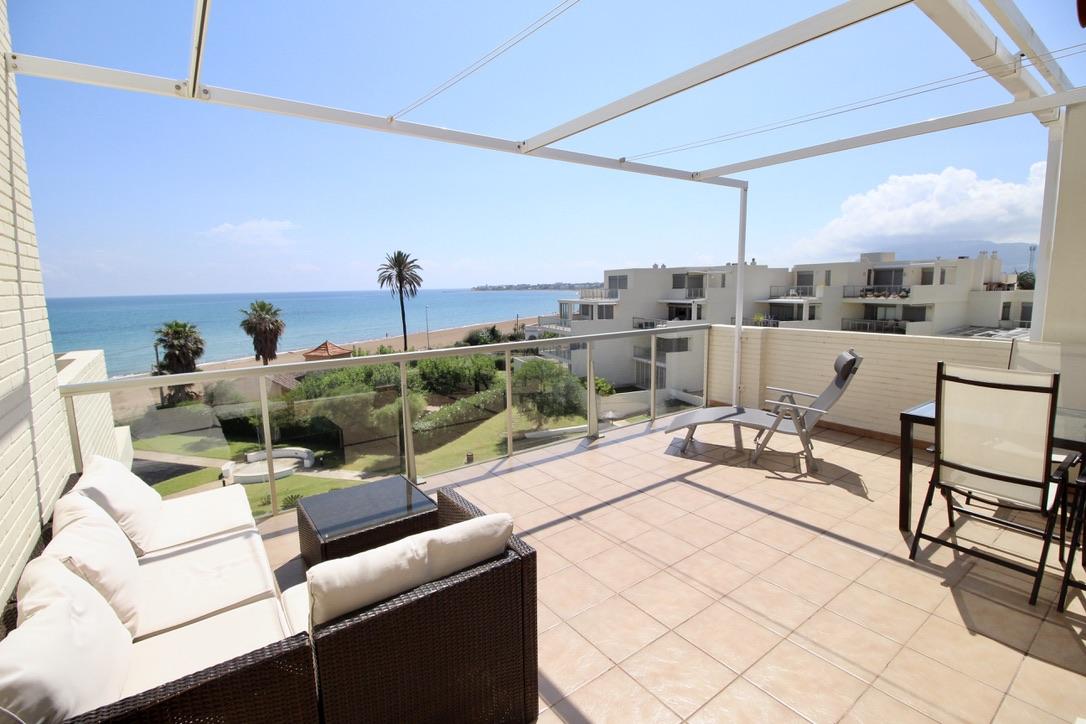 Tierra de Mar 51,Schöne Ferienwohnung  mit Gemeinschaftspool in Denia, an der Costa Blanca, Spanien für 6 Personen.....